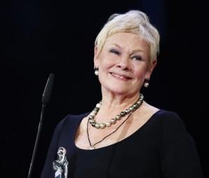 Dame Judi Dench Accepting an Award