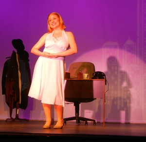 Colleen as Ulla in The Producers