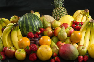 A Pile of Fruits